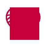 vegan red icon